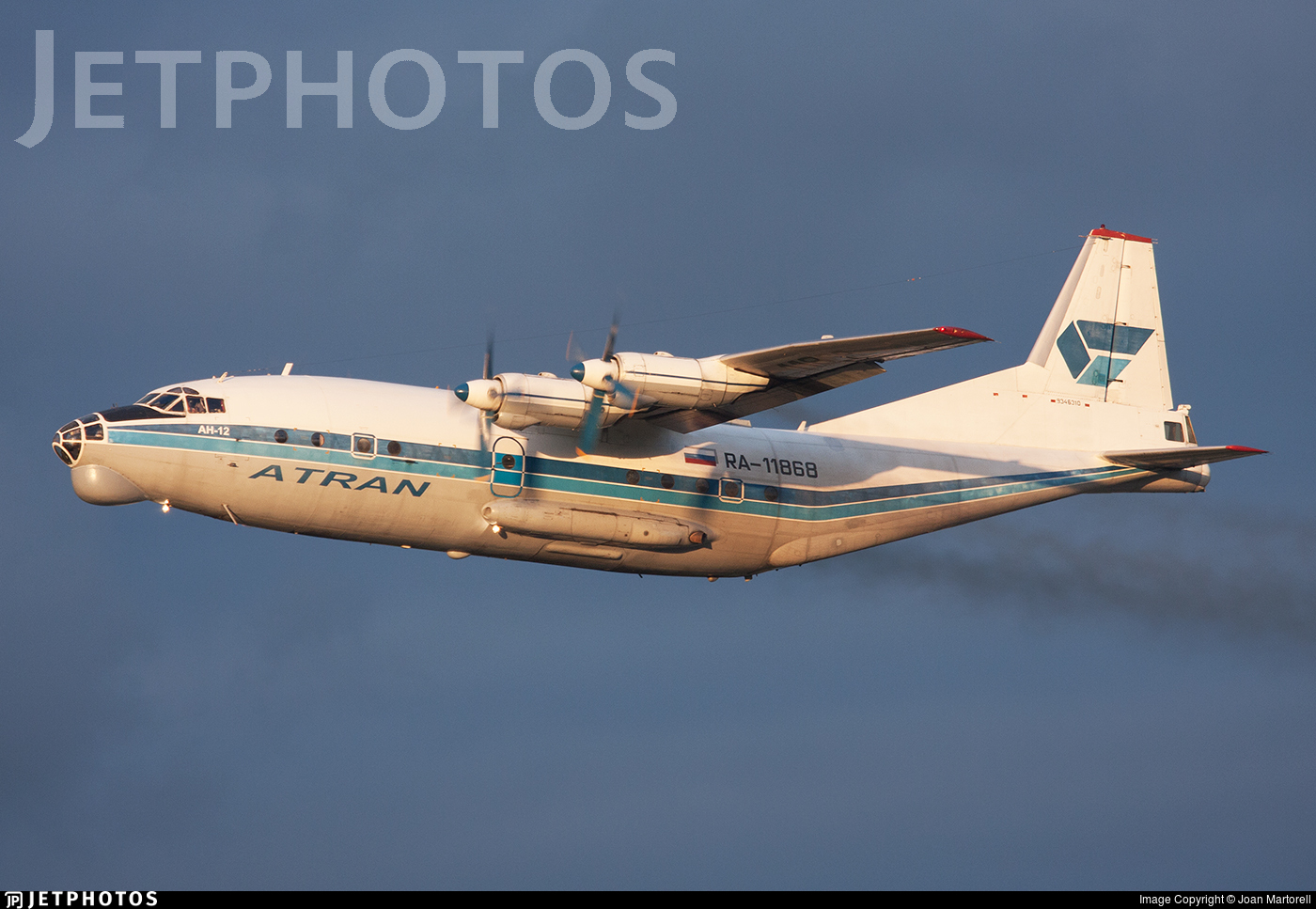 RA-11868 - Antonov An-12BK - Atran - Aviatrans Cargo Airlines