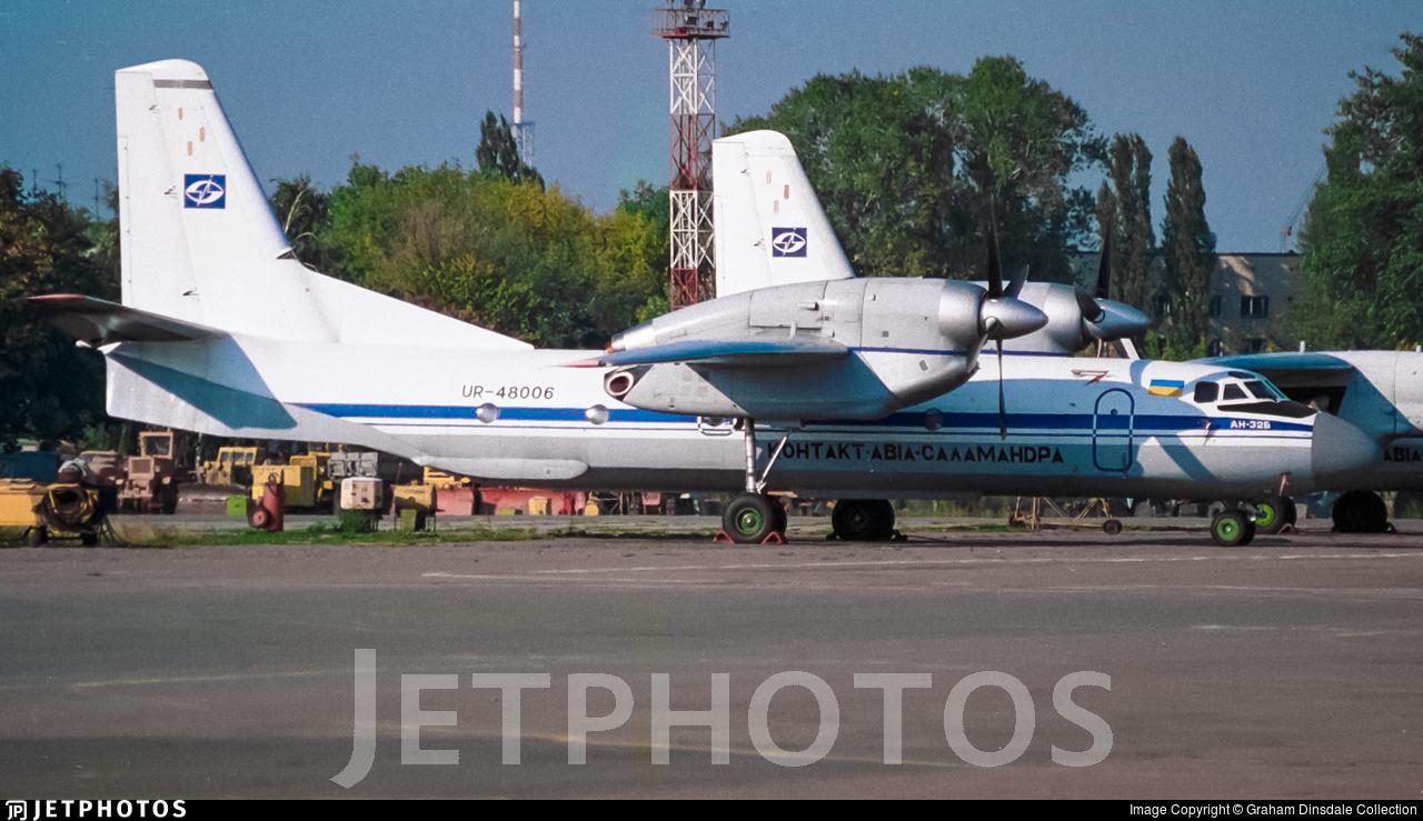 UR-48006 - Antonov An-32B - Contact Avia Salamandra