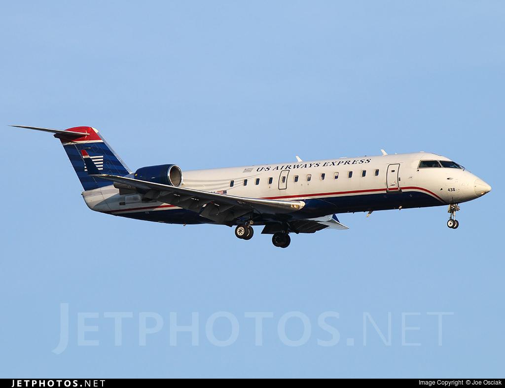 N438AW - Bombardier CRJ-200LR - US Airways Express (Air Wisconsin)