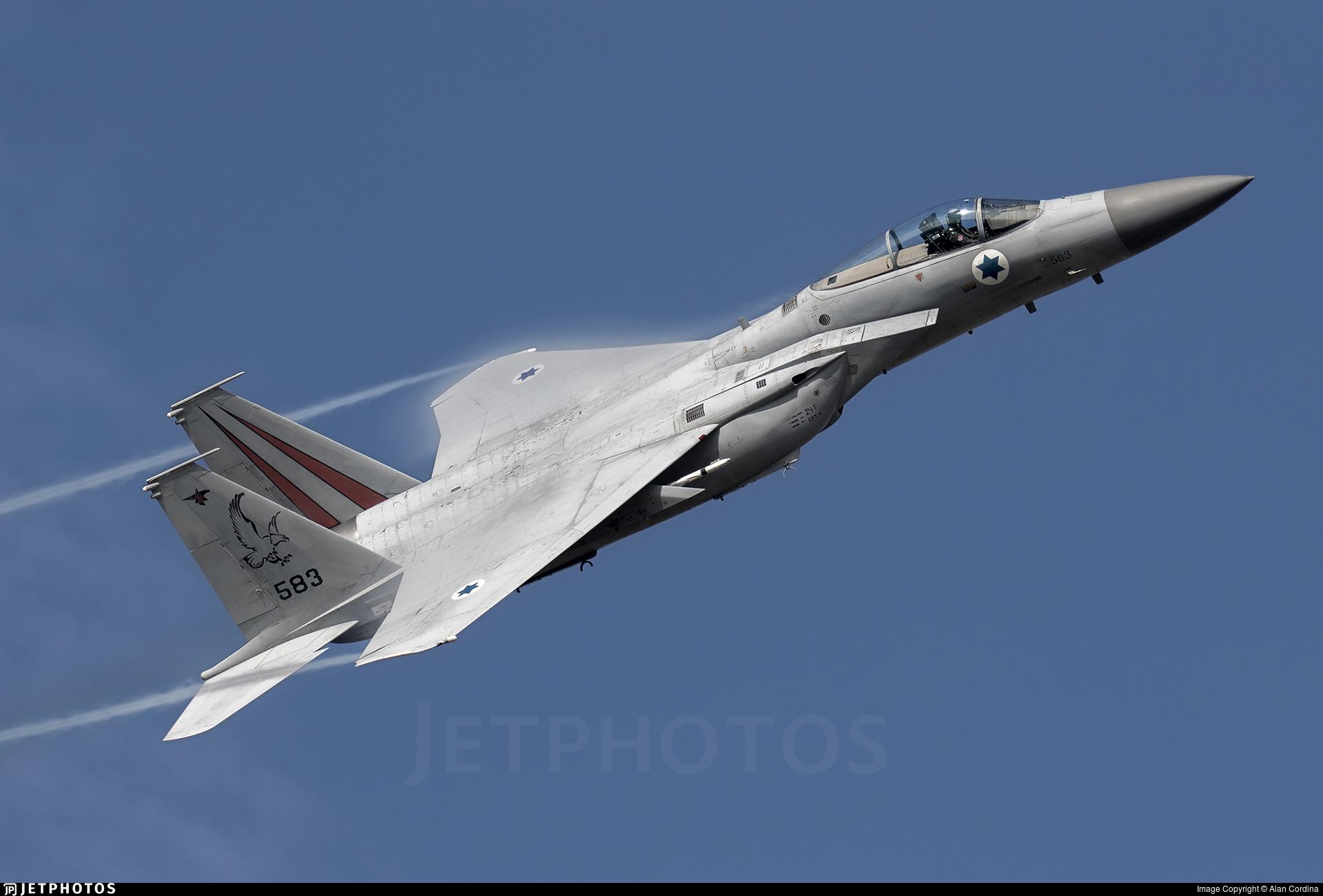 583 - McDonnell Douglas F-15C Baz - Israel - Air Force
