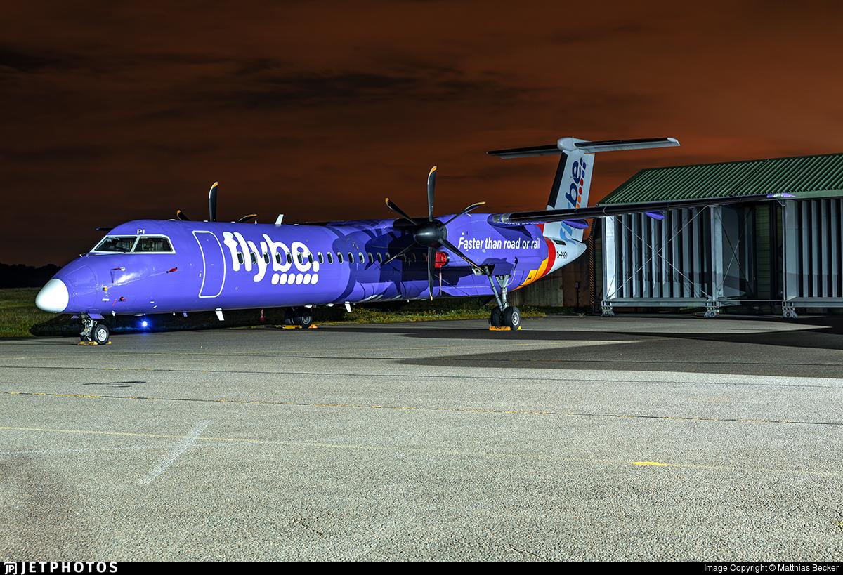 G-PRPI - Bombardier Dash 8-Q402 - Flybe