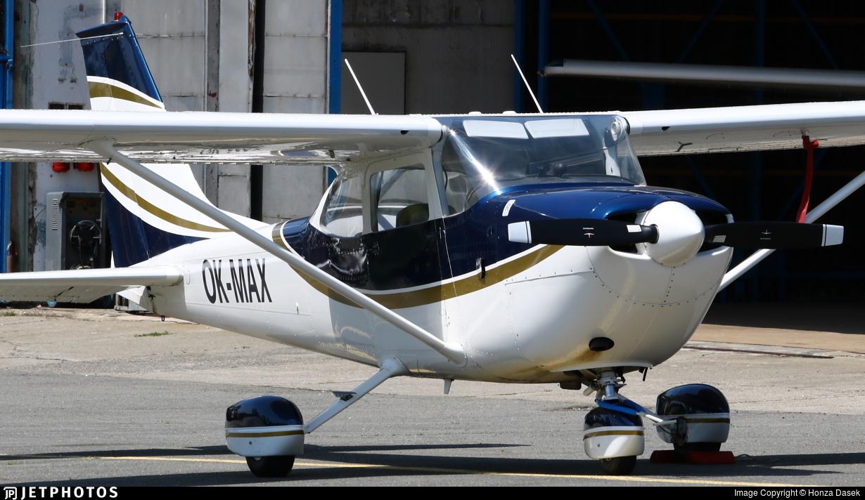 OK-MAX - Reims-Cessna FR172H Reims Rocket - Private