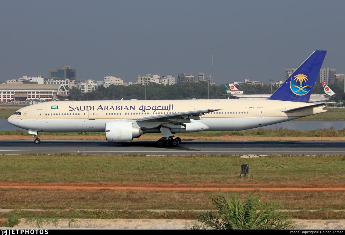 HZ-AKR - Boeing 777-268(ER) - Saudi Arabian Airlines