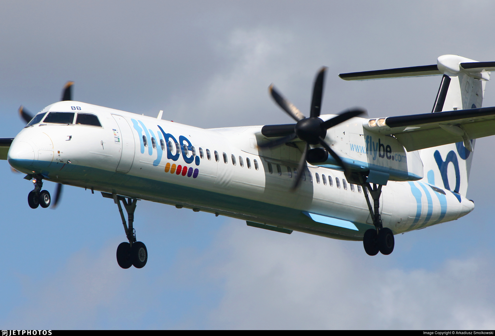 G-FLBB - Bombardier Dash 8-Q402 - Flybe