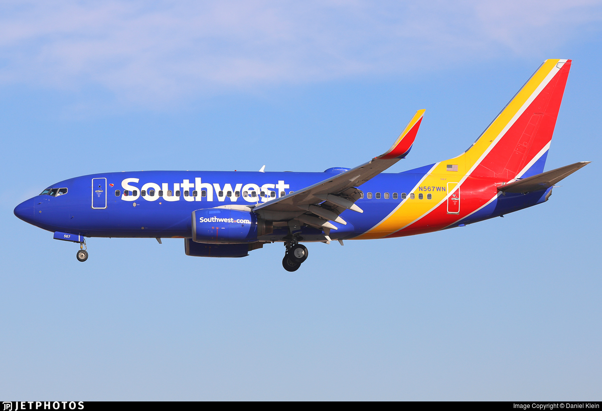 N567WN - Boeing 737-7CT - Southwest Airlines
