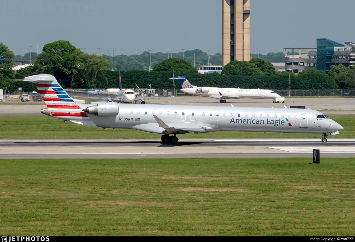 N589NN - Bombardier CRJ-900 - American Eagle (PSA Airlines)
