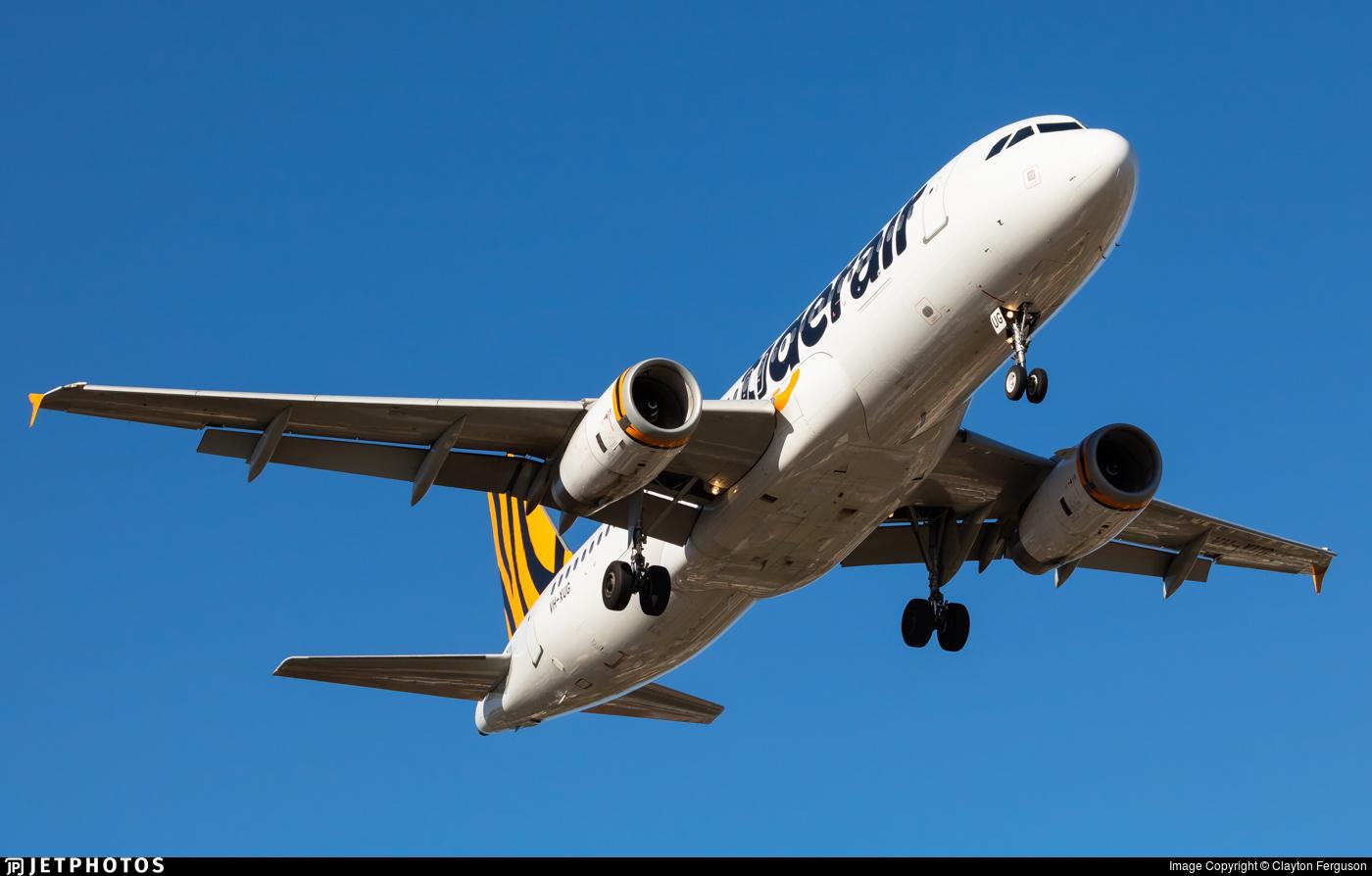 VH-XUG - Airbus A320-232 - Tigerair Australia