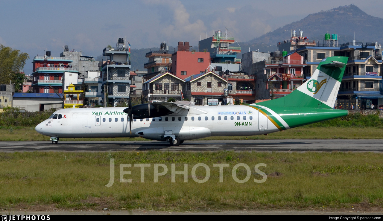 9N-AMN - ATR 72-212A(500) - Yeti Airlines
