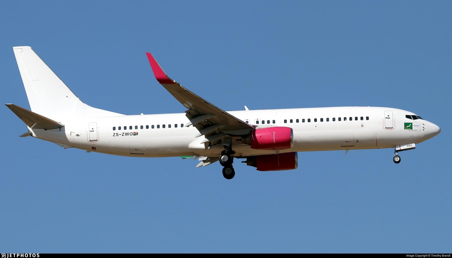 ZS-ZWO - Boeing 737-8K2 - FlySafair