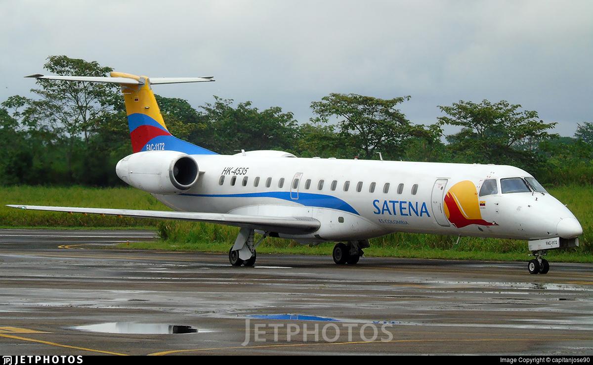 HK-4535 - Embraer ERJ-145LR - Satena