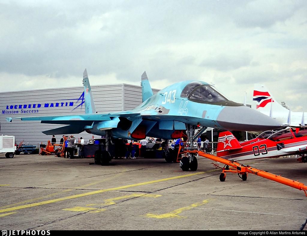 44 - Sukhoi Su-34 Fullback - Russia - Air Force