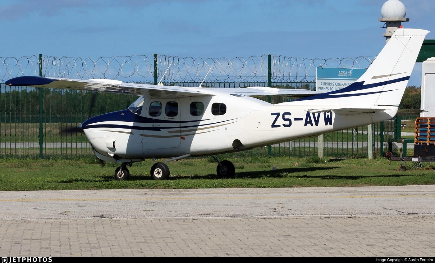 ZS-AVW - Cessna P210N Pressurized Centurion II - Private