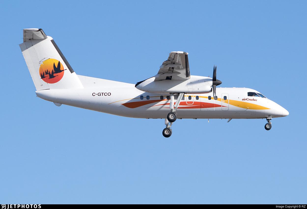 C-GTCO - Bombardier Dash 8-102 - Air Creebec