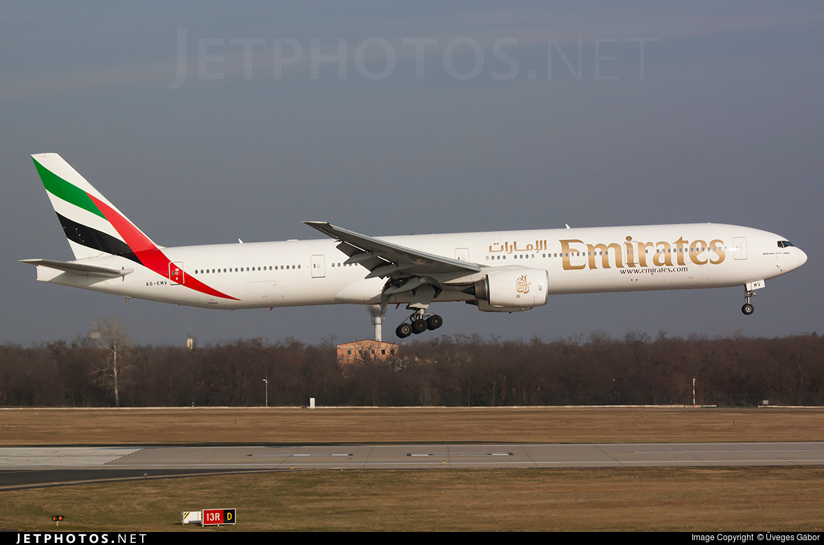 A6-EMV - Boeing 777-31H - Emirates