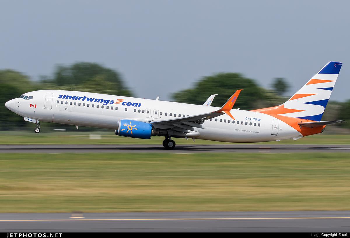 C-GOFW - Boeing 737-8BK - SmartWings (Sunwing Airlines)