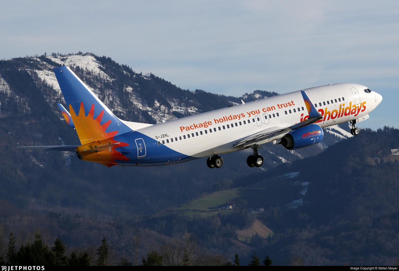 G-JZHL - Boeing 737-8MG - Jet2.com