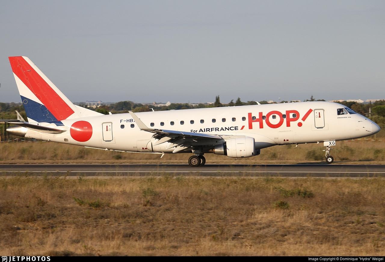 F-HBXG - Embraer 170-100STD - HOP! for Air France