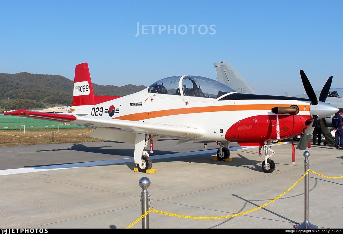 02-029 - KAI KT-1 Woong-Bee - South Korea - Air Force