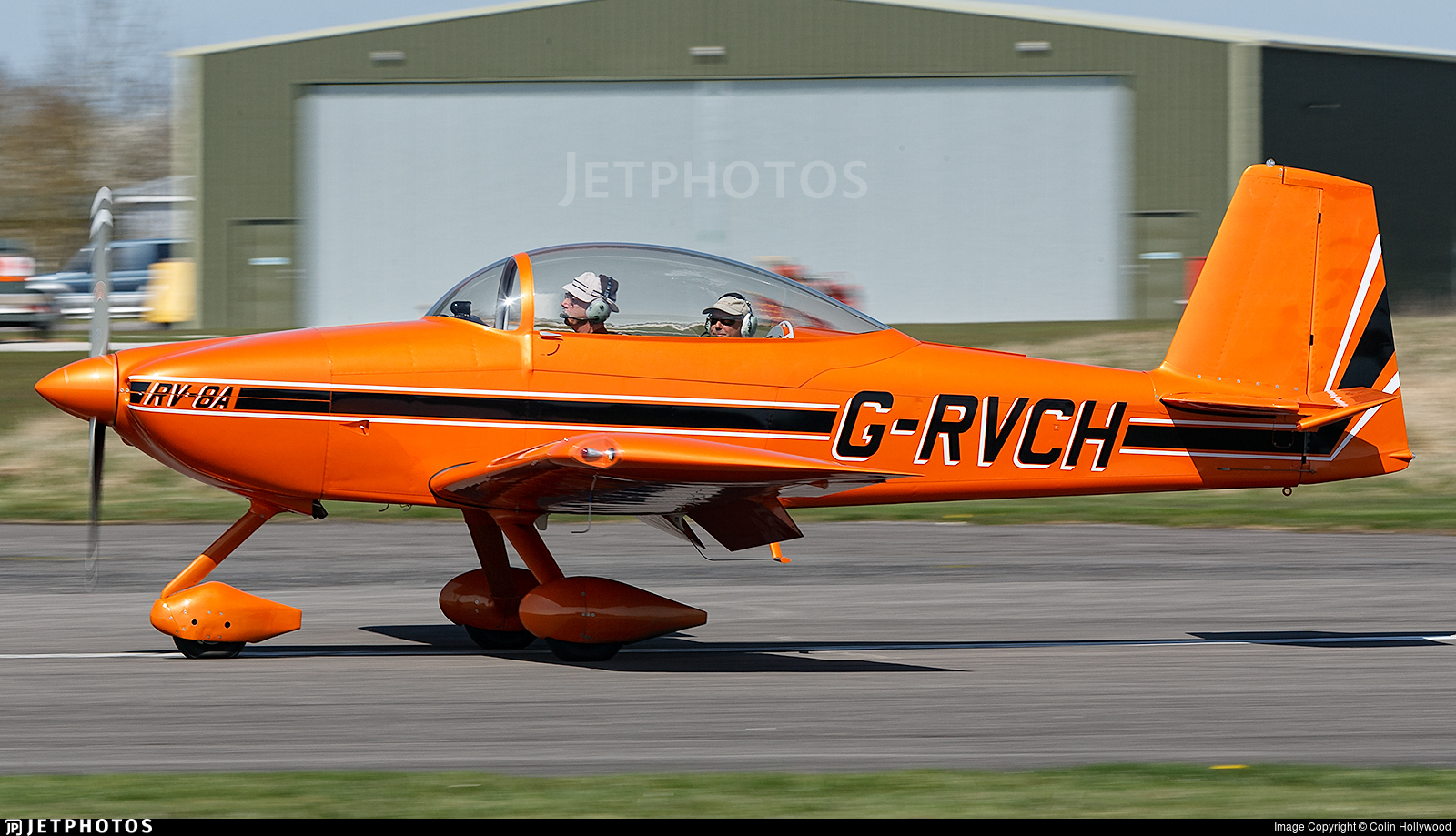 G-RVCH - Vans RV-8A - Private