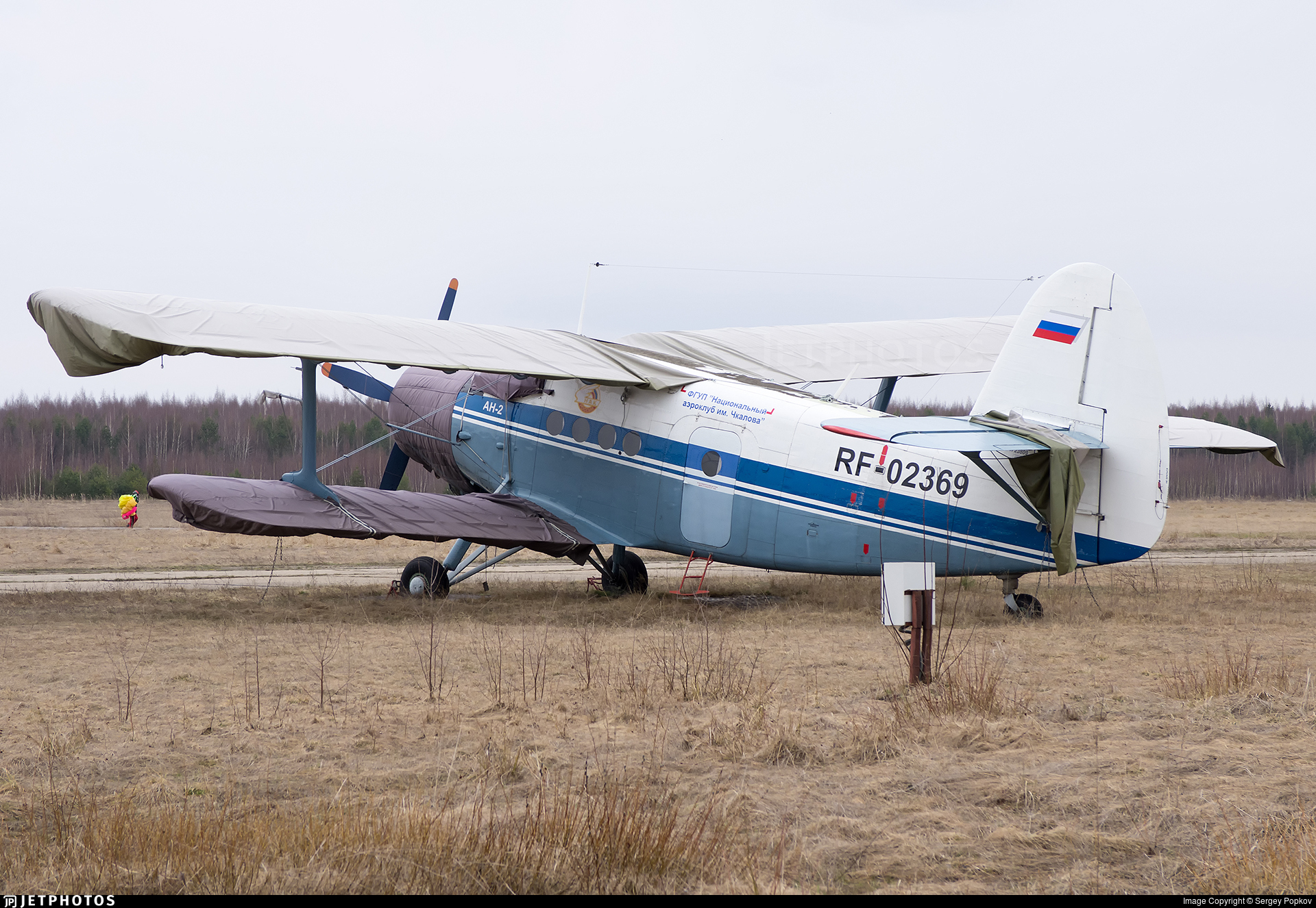 RF-02369 - PZL-Mielec An-2R - Russia - Defence Sports-Technical Organisation (ROSTO)