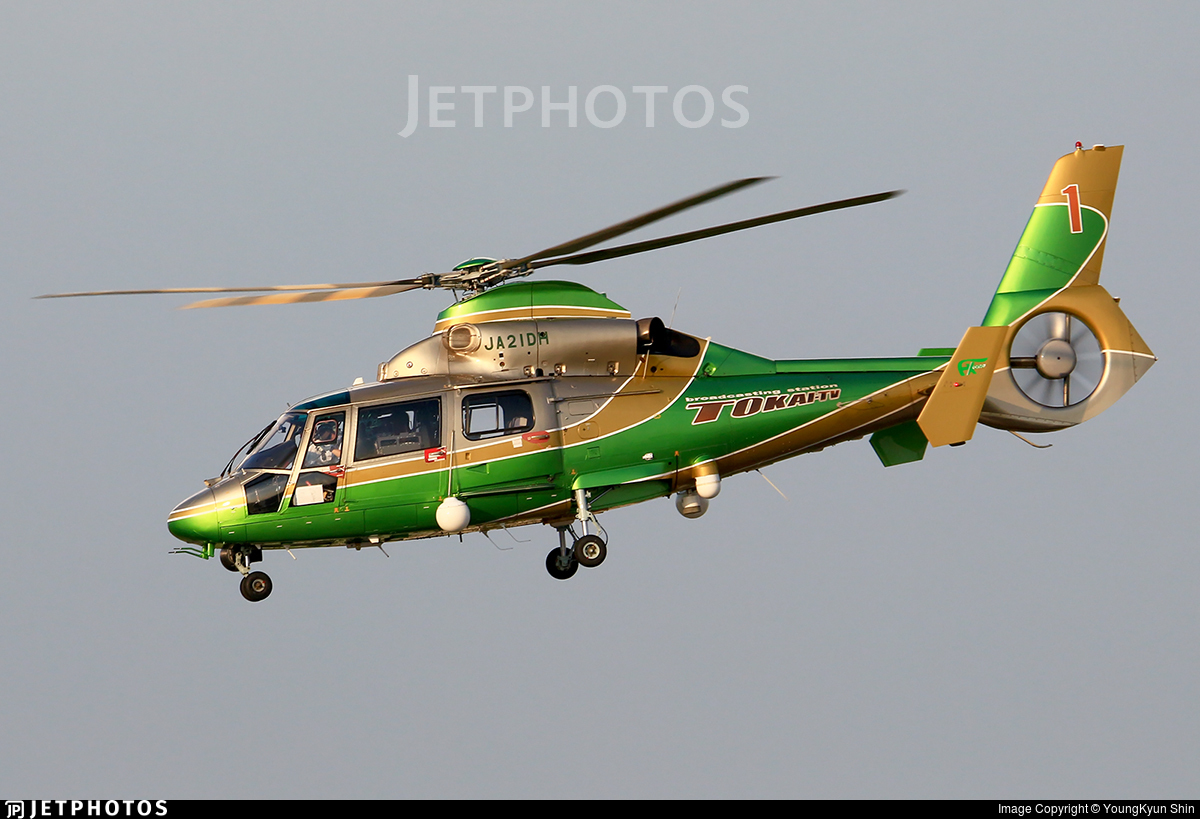 JA21DH - Eurocopter AS 365N2 Dauphin - Nakanihon Air Service