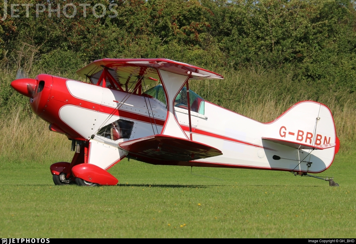 G-BRBN - Pitts S-1S Special - Private
