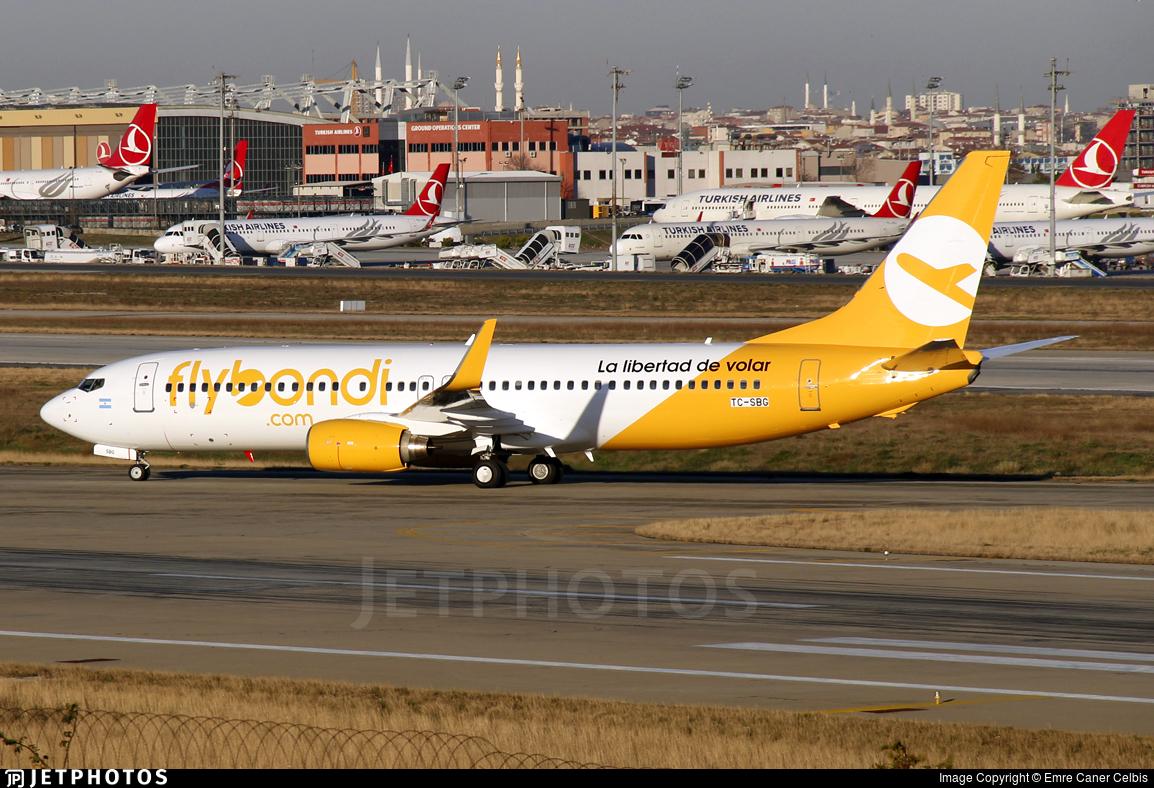 TC-SBG - Boeing 737-86J - Flybondi