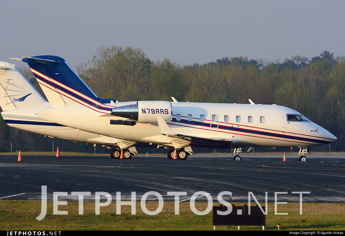 N798RS - Bombardier CL-600-2B16 Challenger 605 - Private