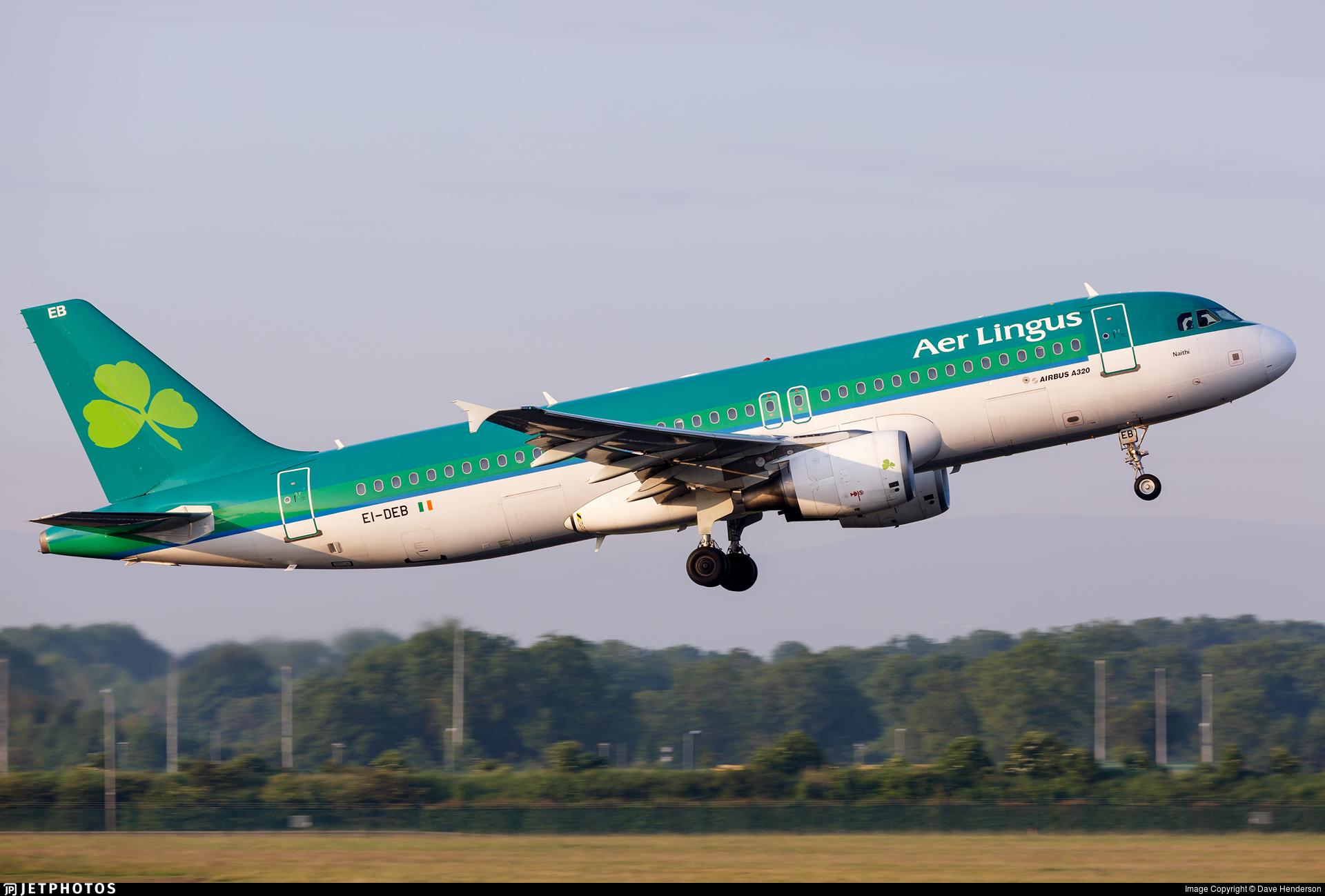 EI-DEB - Airbus A320-214 - Aer Lingus