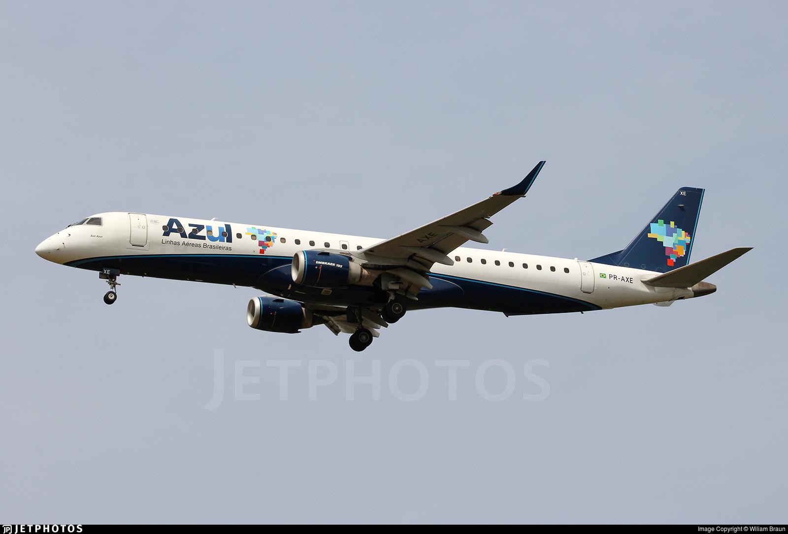 PR-AXE - Embraer 190-200IGW - Azul Linhas Aéreas Brasileiras