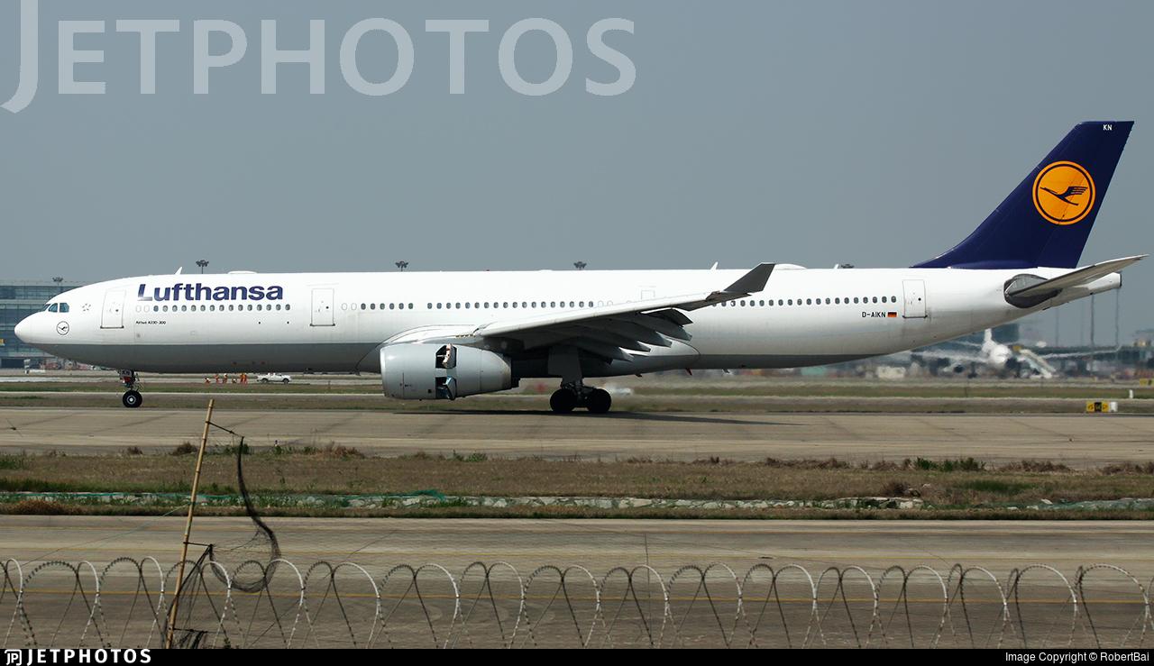 D-AIKN - Airbus A330-343 - Lufthansa