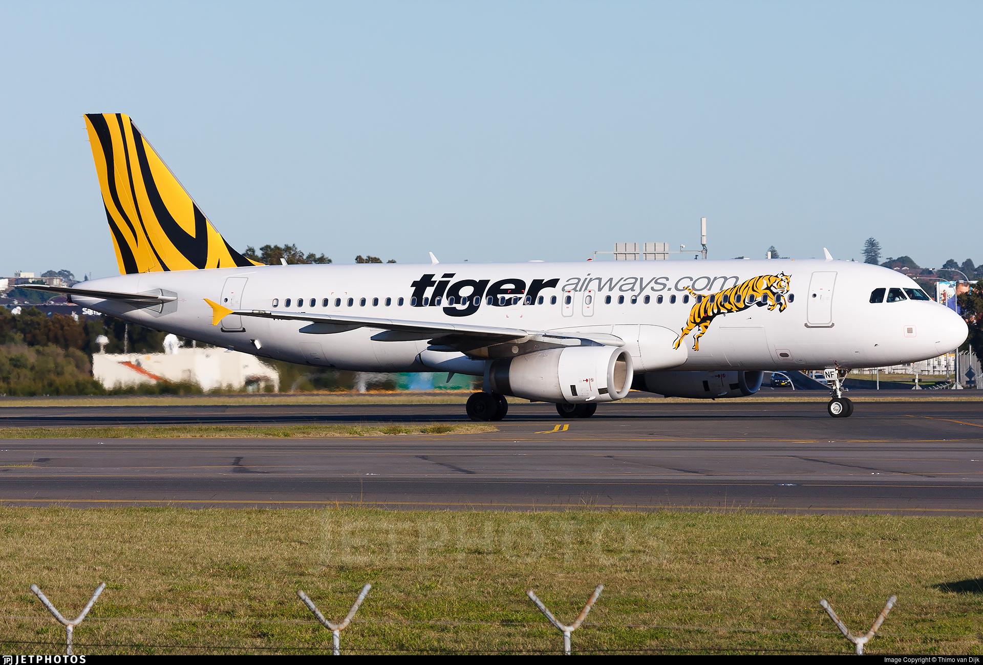 VH-VNF - Airbus A320-232 - Tiger Airways Australia