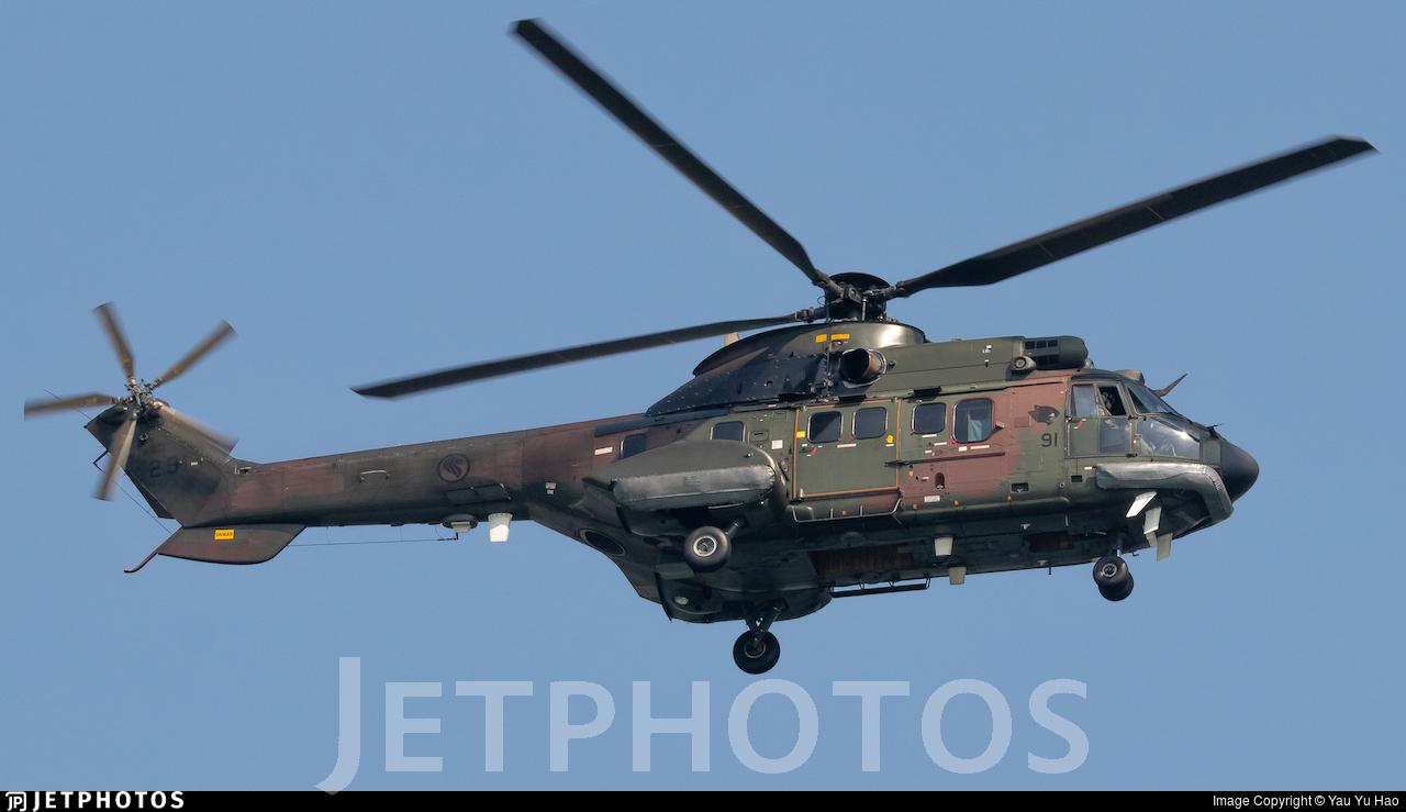 291 - Eurocopter AS 332M Super Puma - Singapore - Air Force