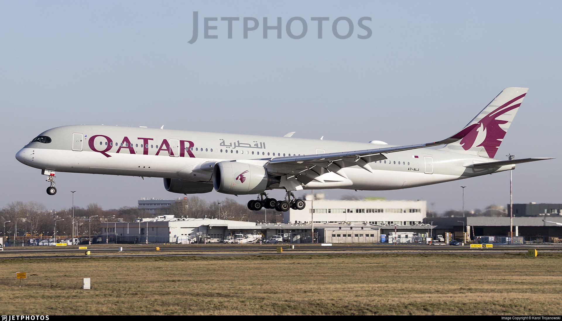 A7-ALJ - Airbus A350-941 - Qatar Airways