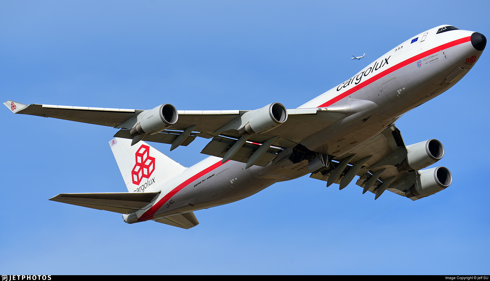 LX-NCL - Boeing 747-4EVERF - Cargolux Airlines International