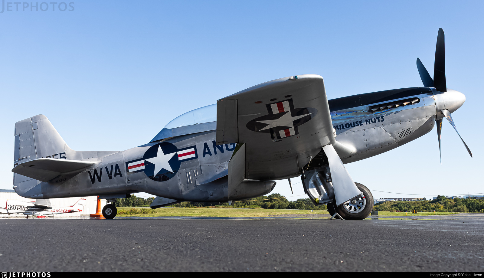 NL551CF - North American P-51D Mustang - Private