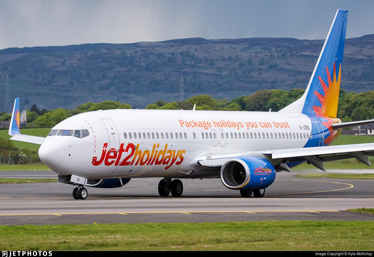 G-JZBC - Boeing 737-8MG - Jet2.com