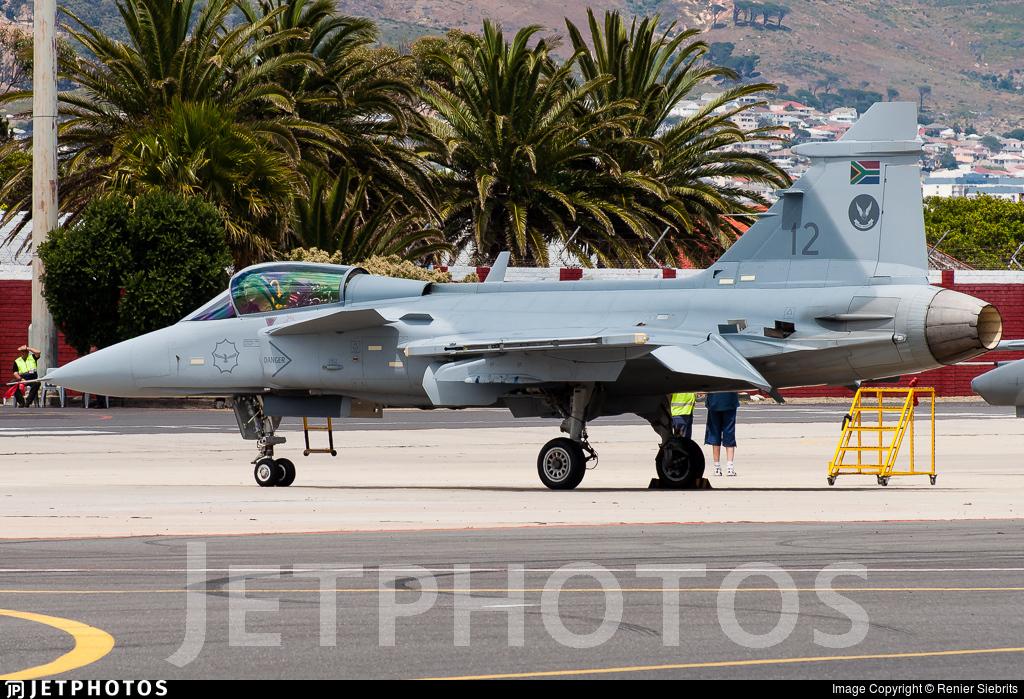 3912 - Saab JAS-39C Gripen - South Africa - Air Force
