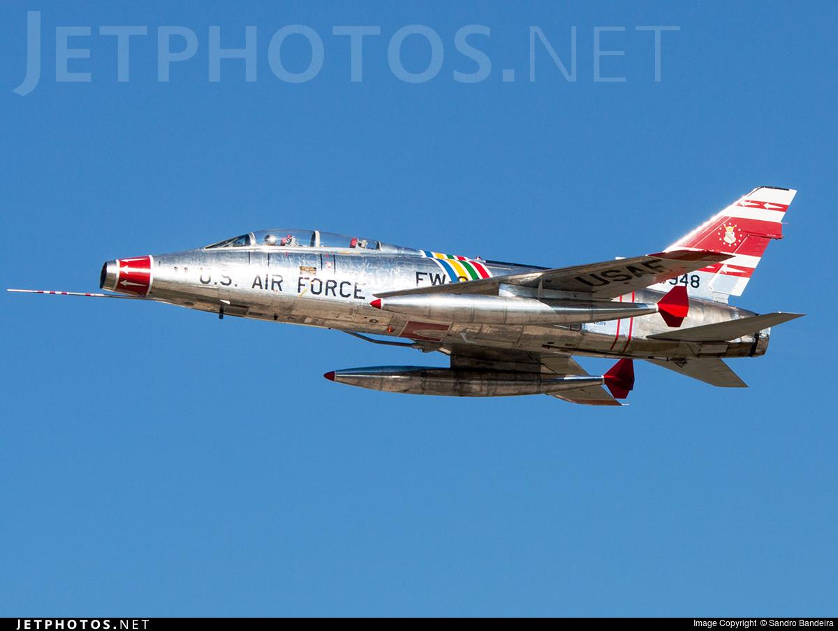 N2011V | North American F-100F Super Sabre | Private | Sandro Bandeira | JetPhotos
