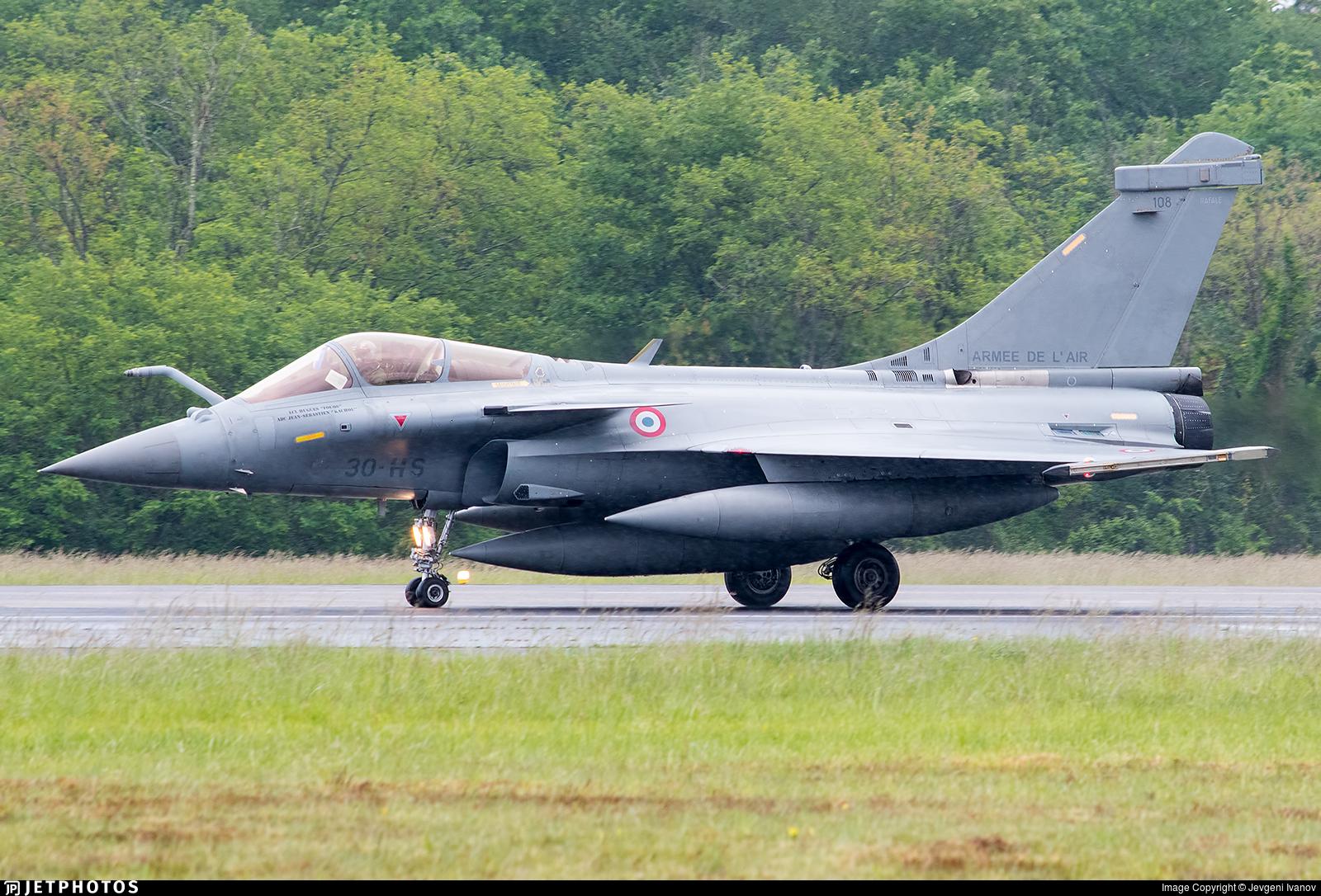 108 - Dassault Rafale C - France - Air Force