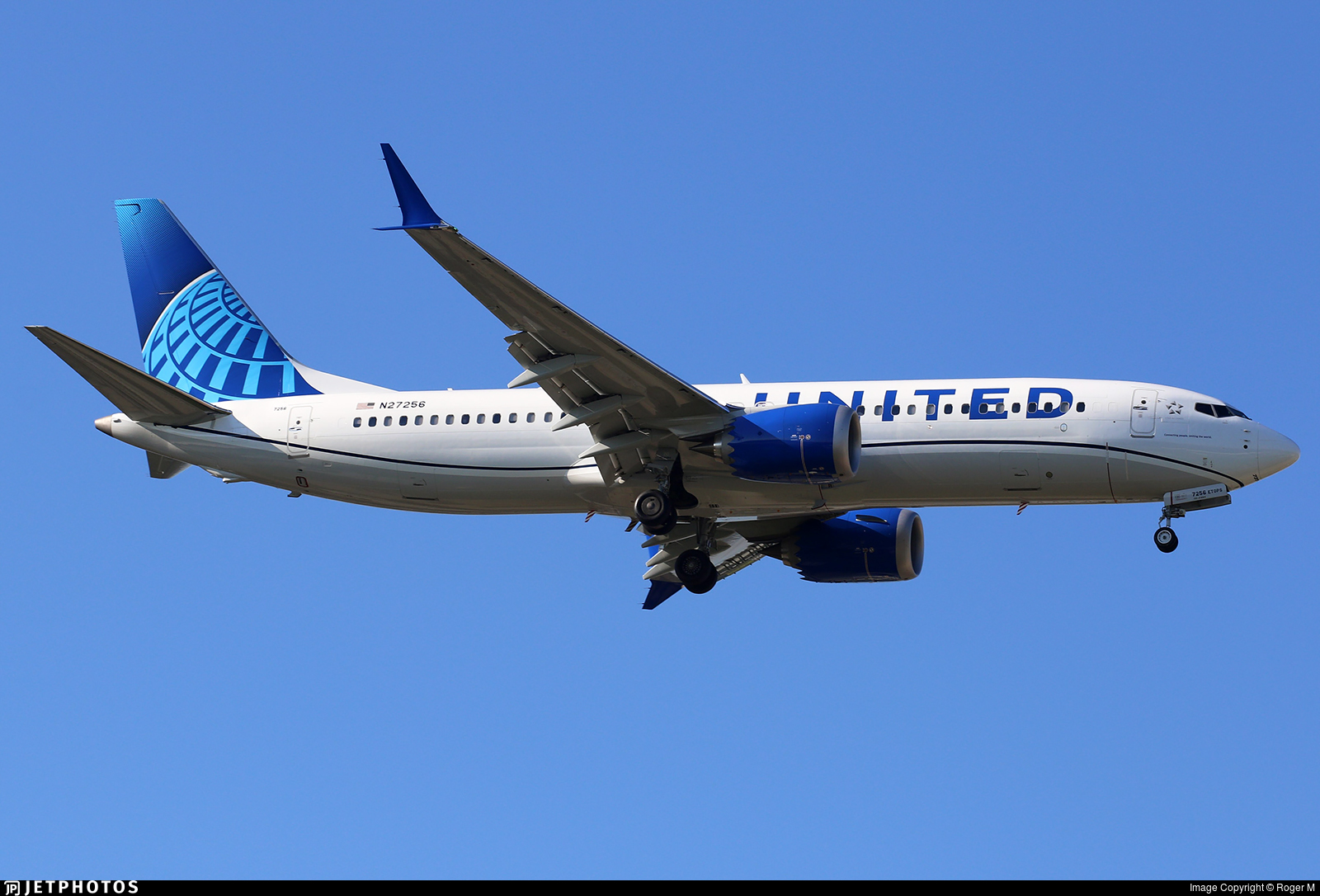 N27256 - Boeing 737-8 MAX - United Airlines