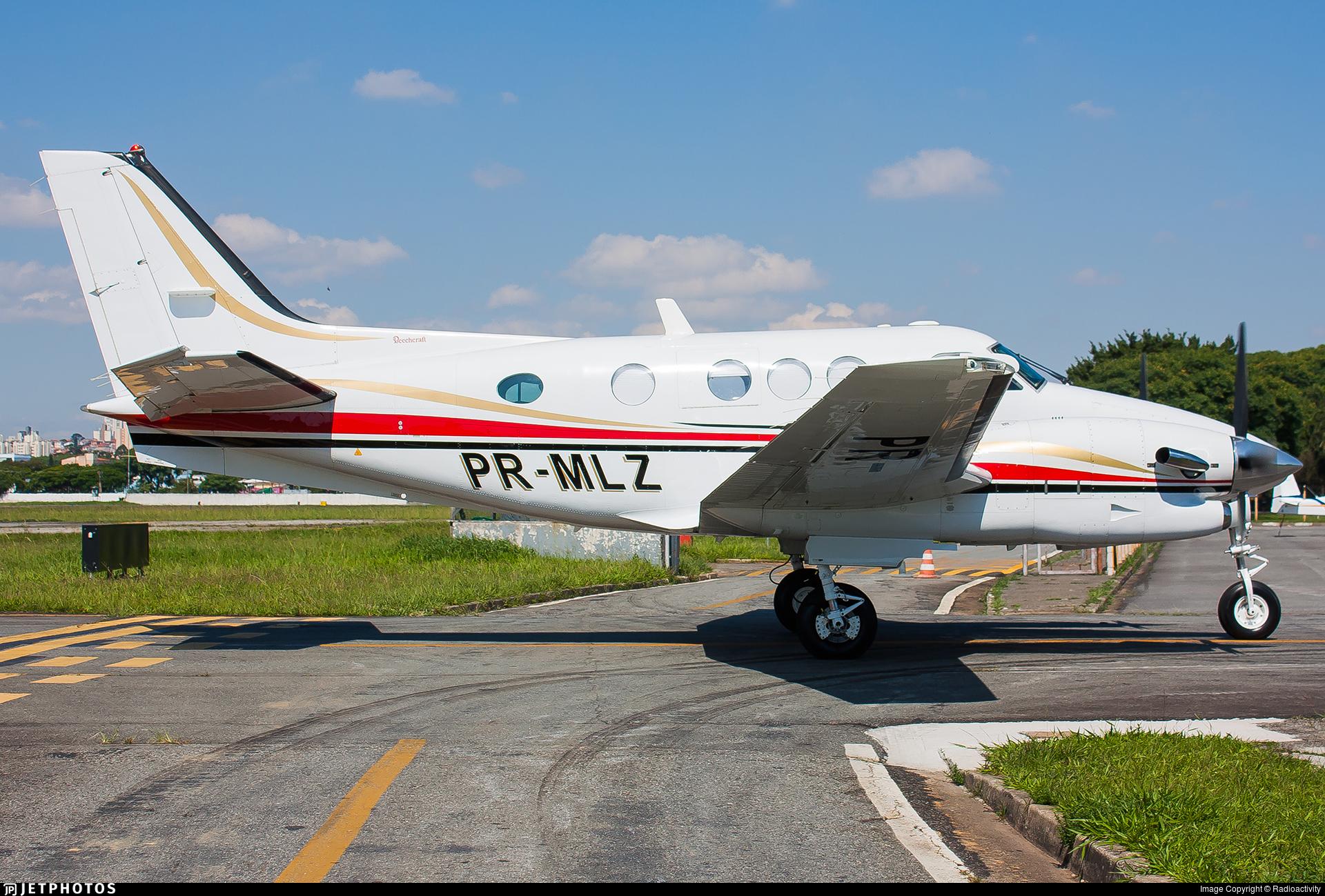 PR-MLZ - Beechcraft C90A King Air - Private