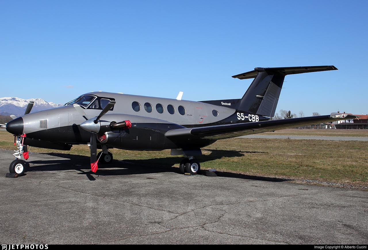 S5-CBB - Beechcraft B200 Super King Air - Private