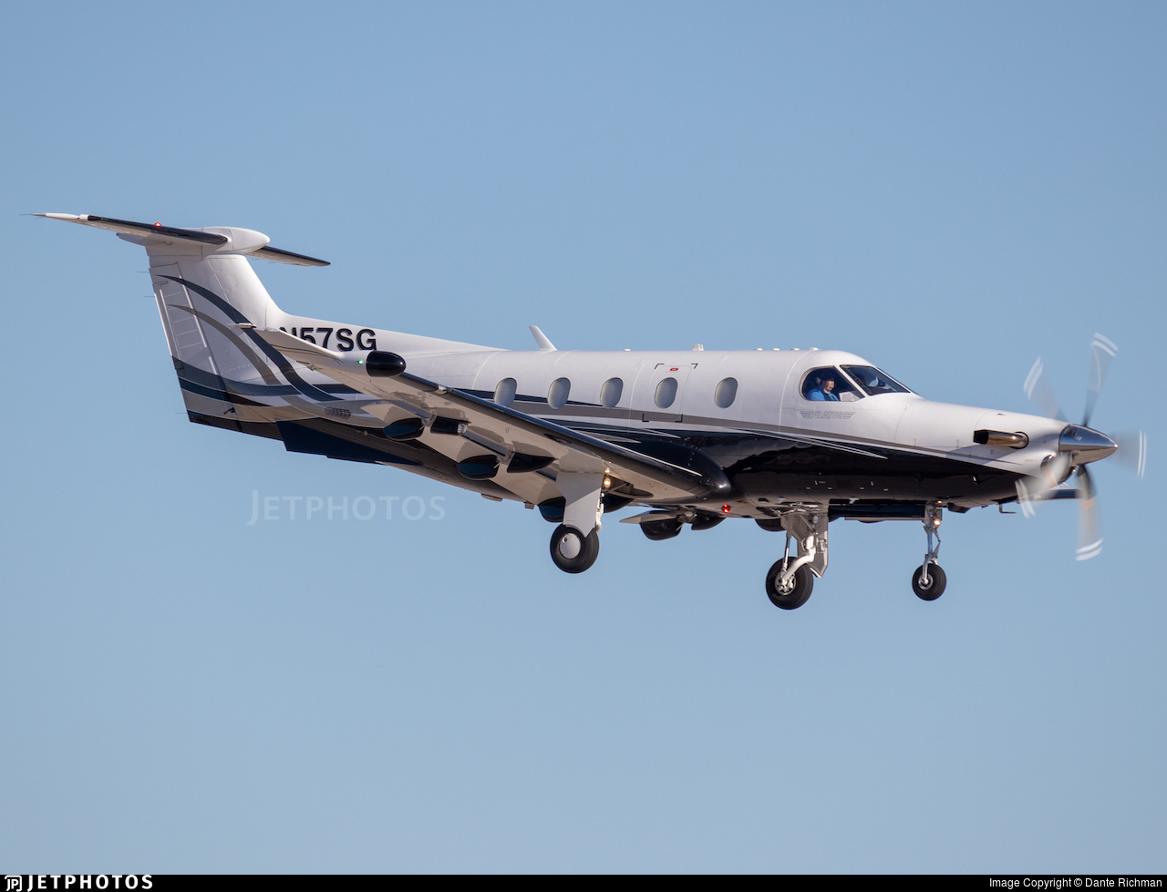 N57SG - Pilatus PC-12/47 - Private
