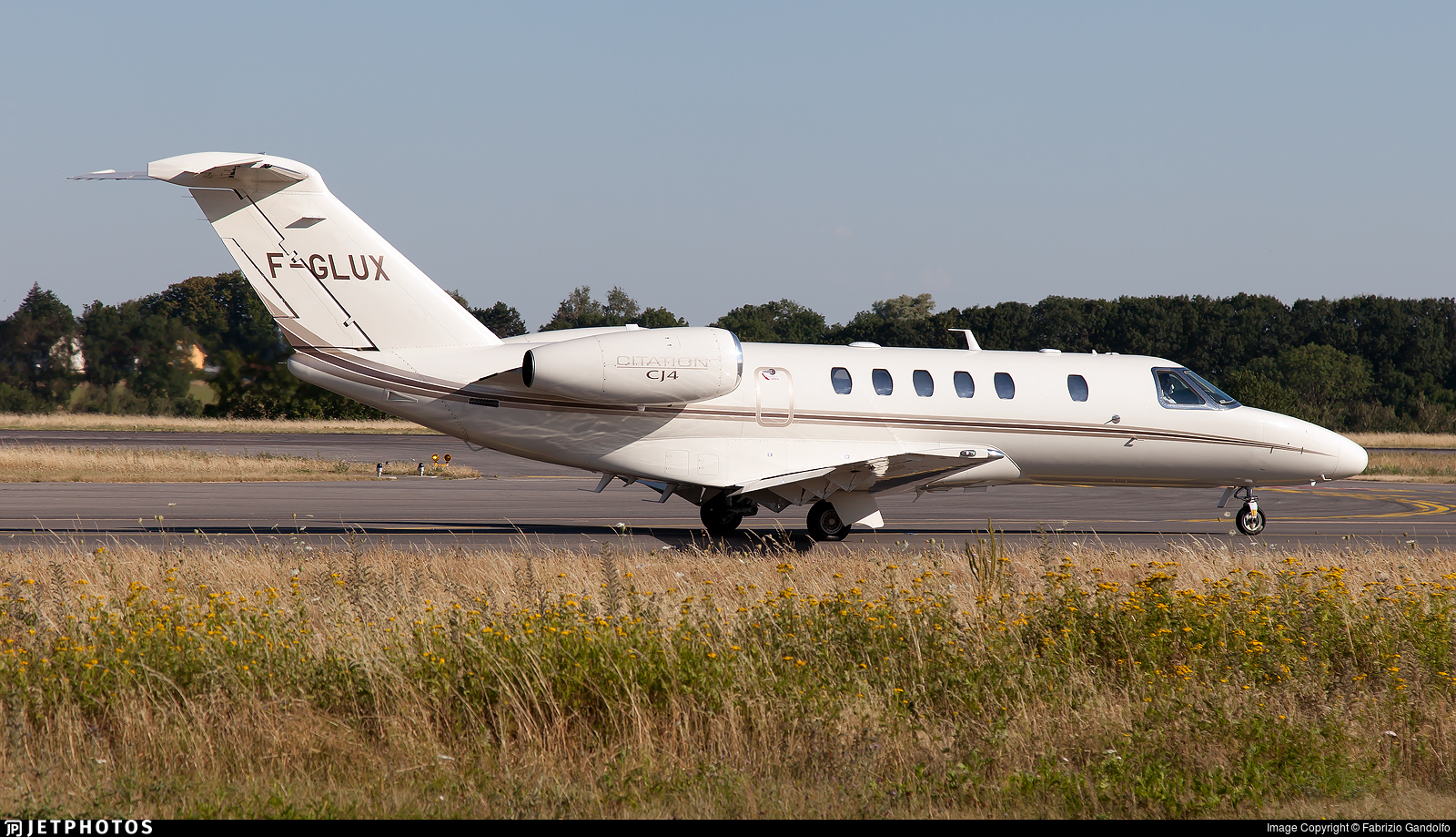 F-GLUX - Cessna 525 Citationjet CJ4 - Private