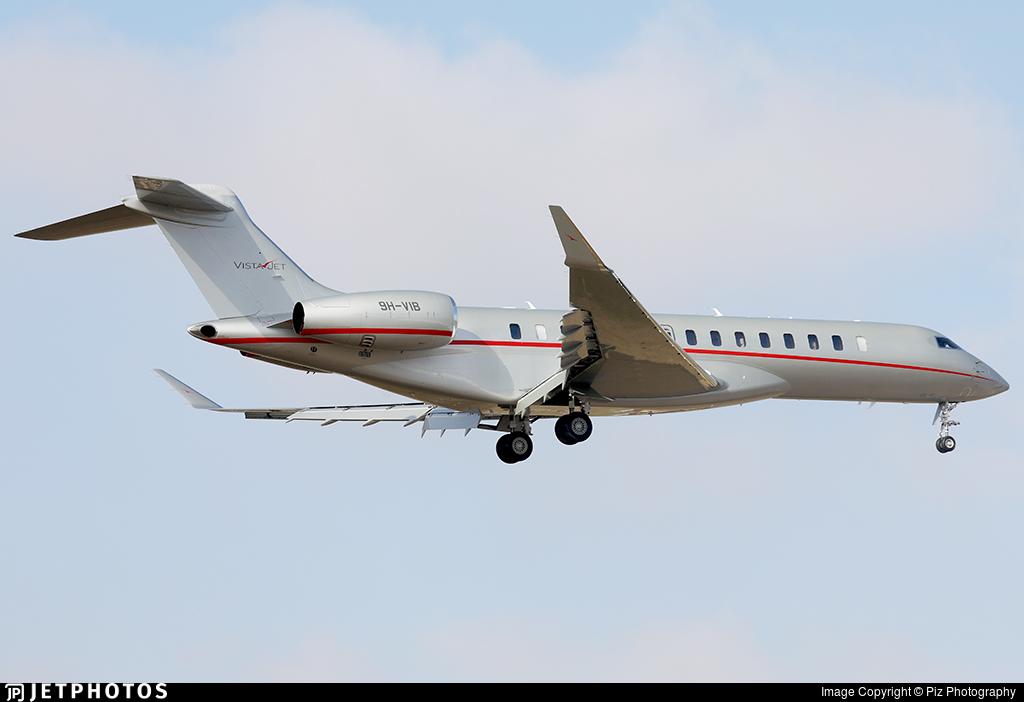 9H-VIB  - Bombardier BD-700-2A12 Global 7500  - VistaJet