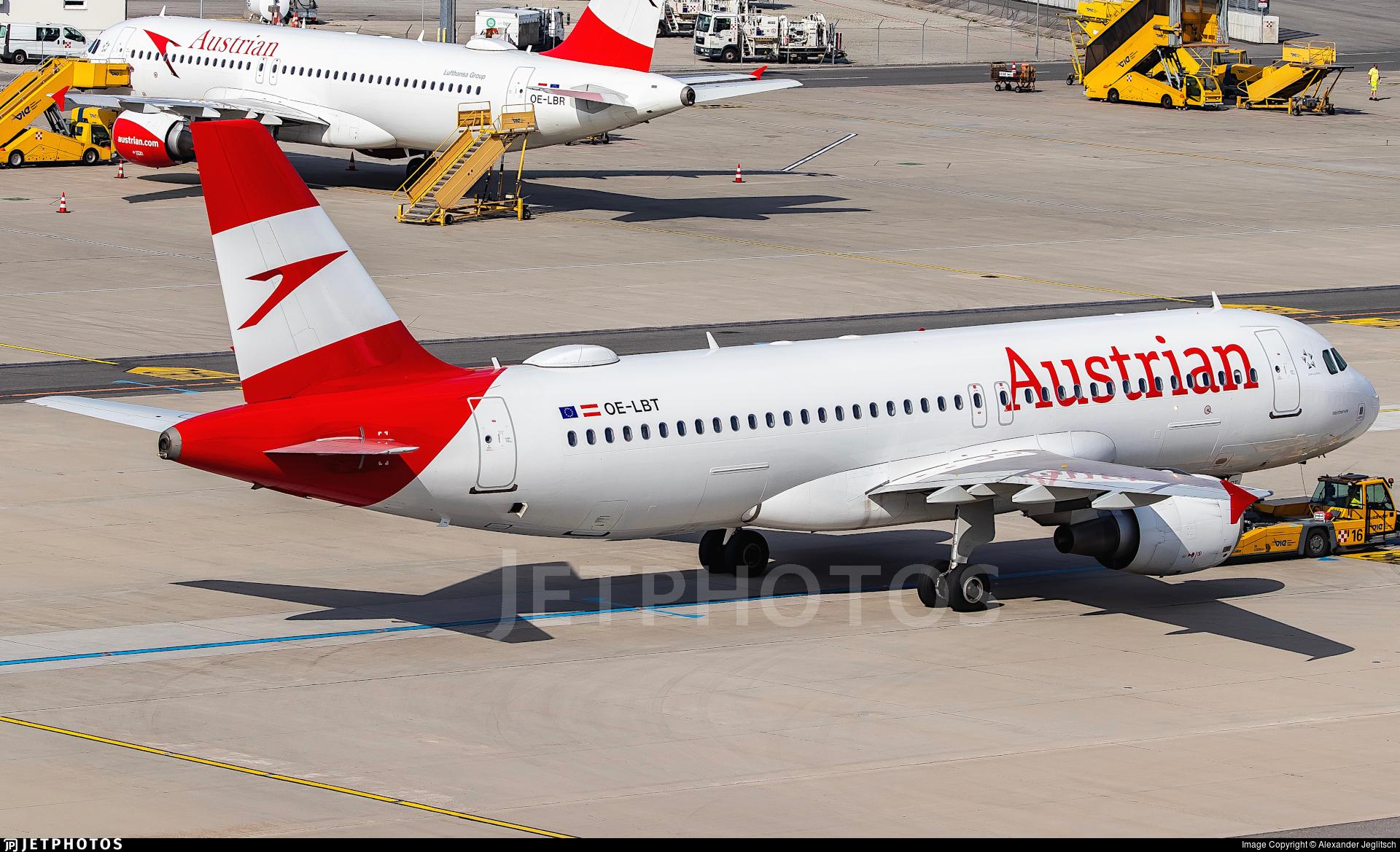 OE-LBT - Airbus A320-214 - Austrian Airlines