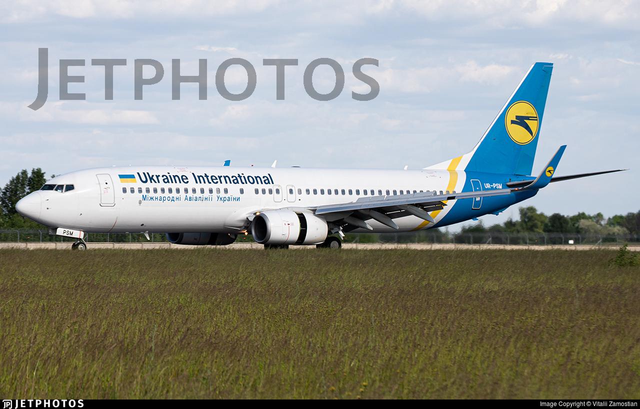 UR-PSM - Boeing 737-8FZ - Ukraine International Airlines