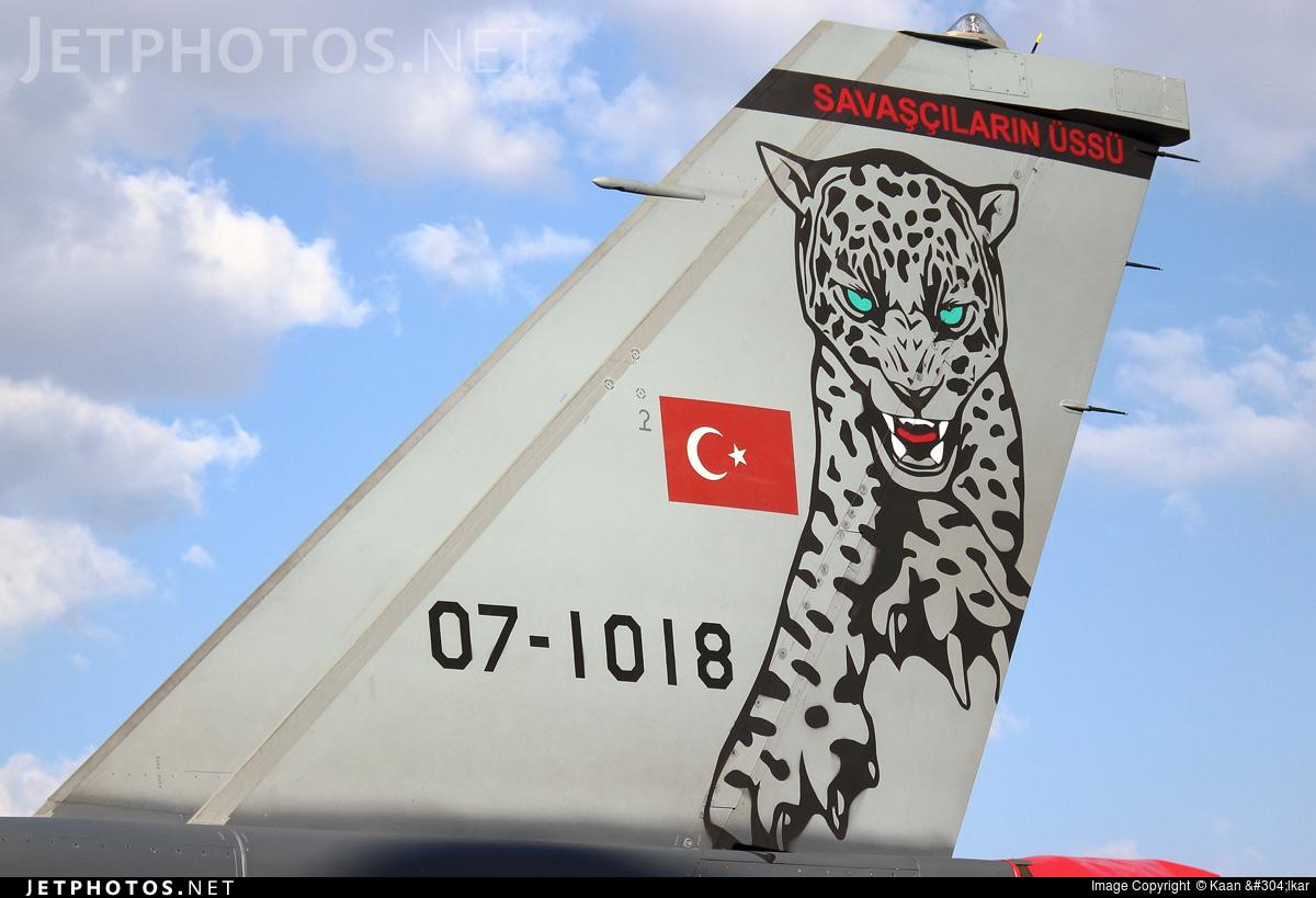 07-1018 - Lockheed Martin F-16D Fighting Falcon - Turkey - Air Force