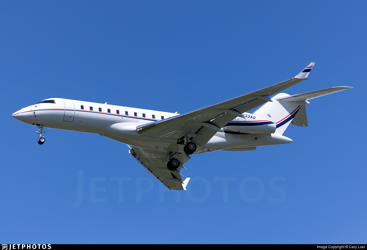 N633AD - Bombardier BD-700-1A10 Global Express XRS - Private